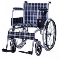 Tekerlekli Sandalye Standart Ekose Kumaş